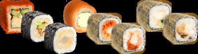 Суши сет №5 Холодный Спайси 56 шт.