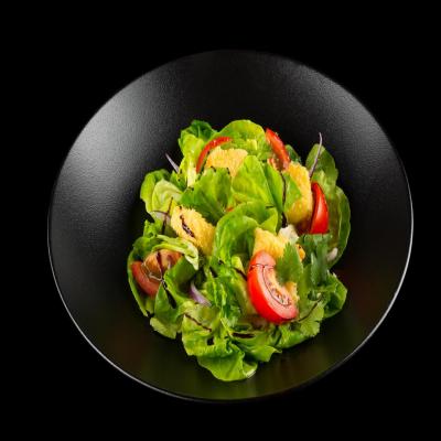 Салат цезарь с семгой