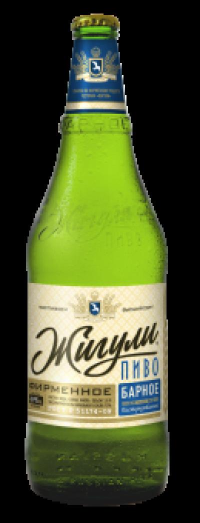 """Фирменное пиво """"Жигули"""" 0,5 л стекло"""