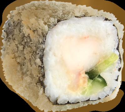 ролл эби темпура (горячий)